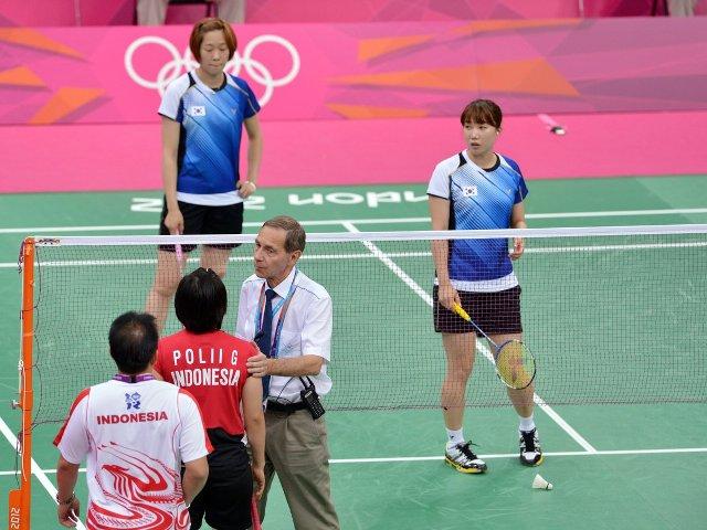 losing badminton - s