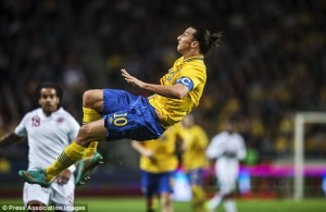 zlatan bicycle kick