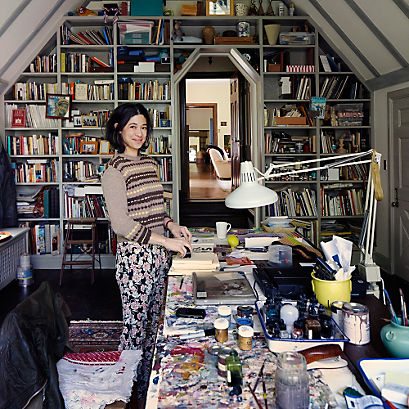 Leanne Shapton - portrait Simon Watson