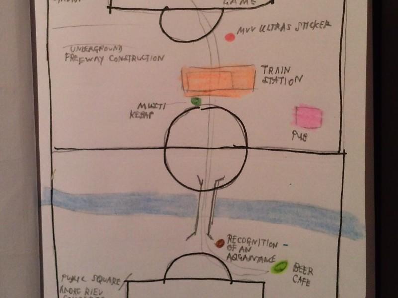 Maastricht Football Map