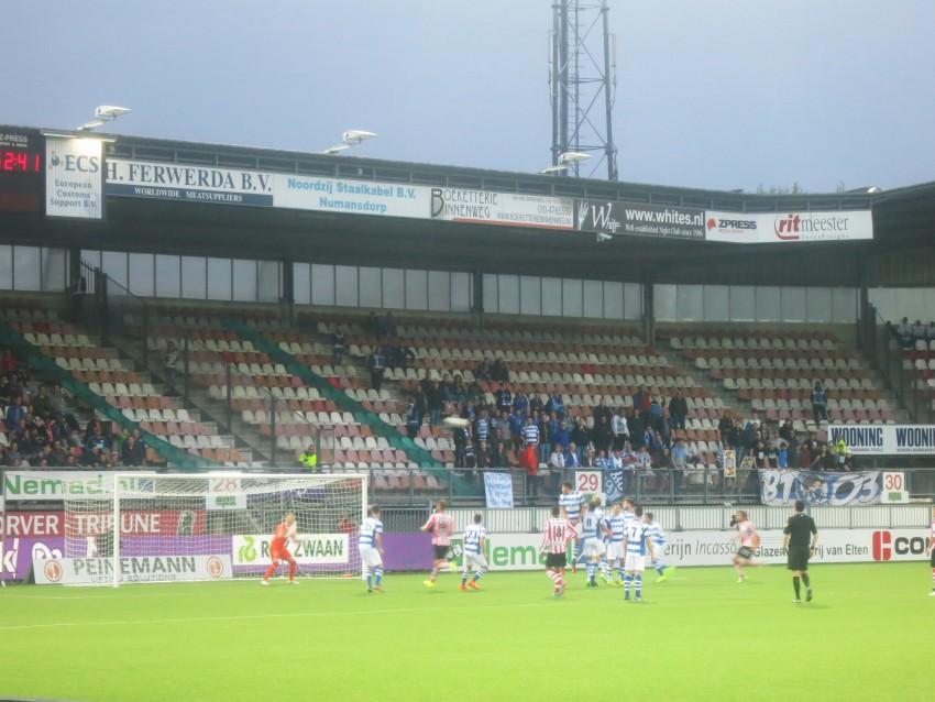 Sparta 2 Away Fans