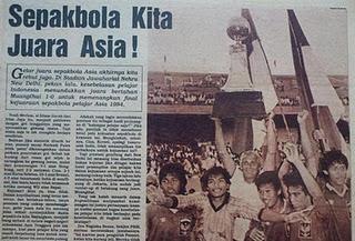 Sepakbola kita juara asia
