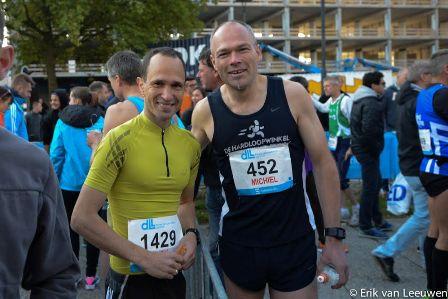 Andy and Michiel - Eindhoven Marathon - 111015 - Eric van Leeuwen