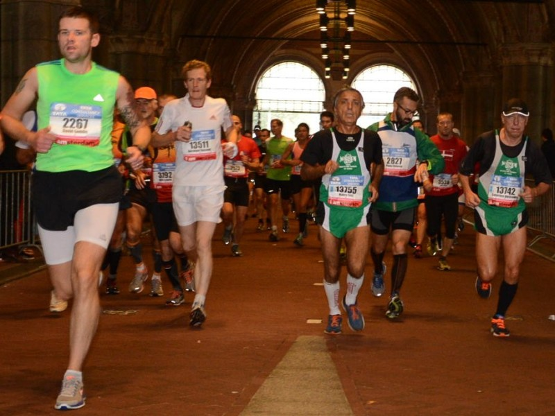 1. Running through the Rijksmuseum