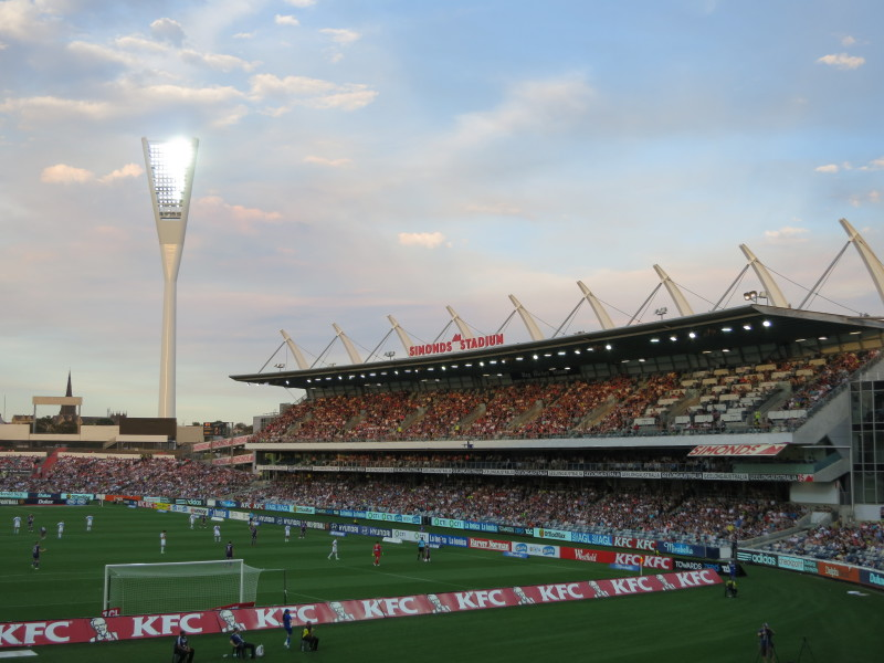 1.Simonds Stadium