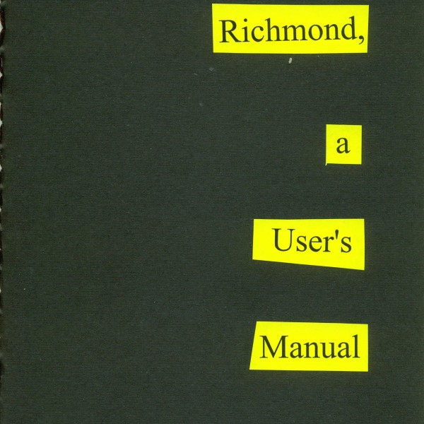 Richmond, A User's Manual front cover