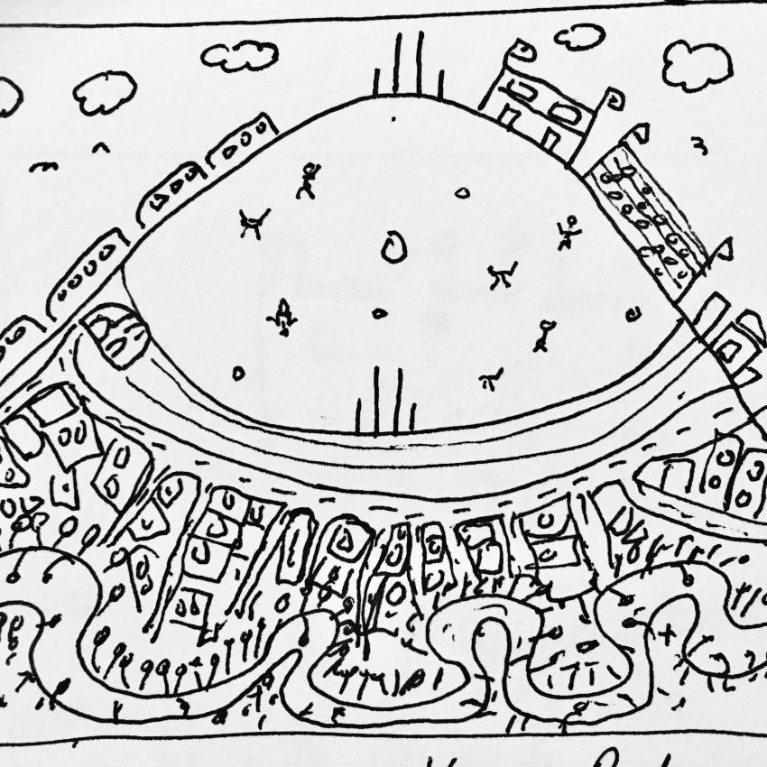 Victoria Park Sketch 2